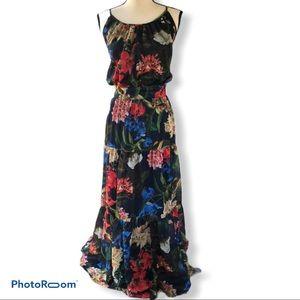 Gibson Latimer   Floral Gypsy Skirt Maxi Dress
